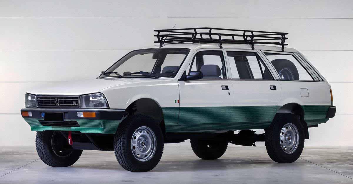 Автомобили, которых вы не ожидали от Peugeot