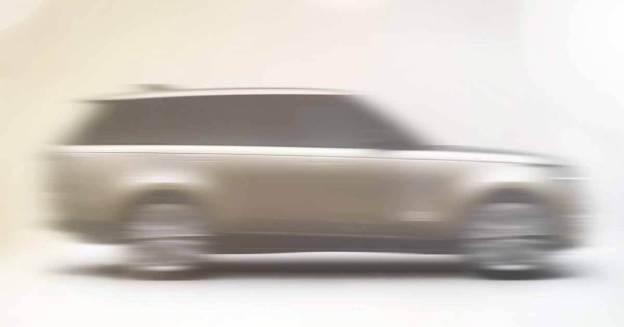 Новый Range Rover: первое фото - Мотор