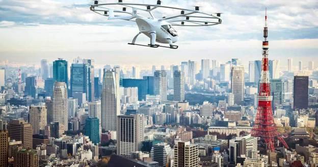 В 2023 году в Японии запустят летающее такси - Motor