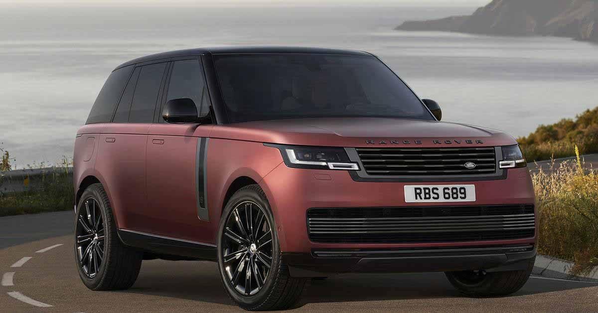 Все подробности о Range Rover пятого поколения