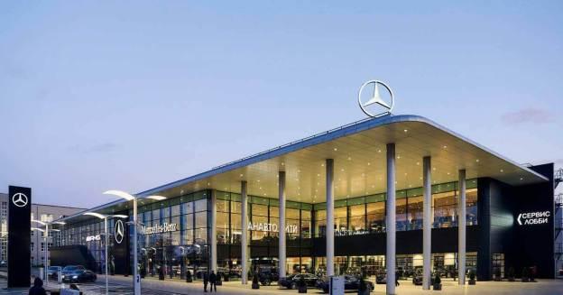 Mercedes-Benz открыл новый флагманский салон в Москве