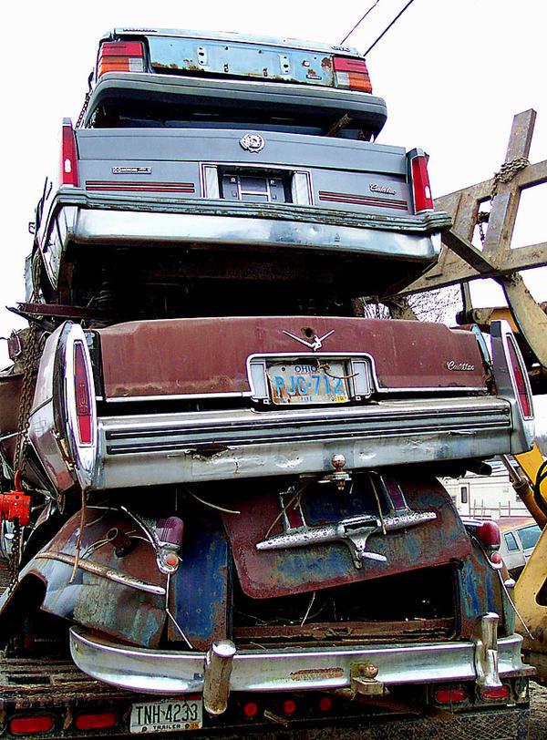 Auto wrecking yards