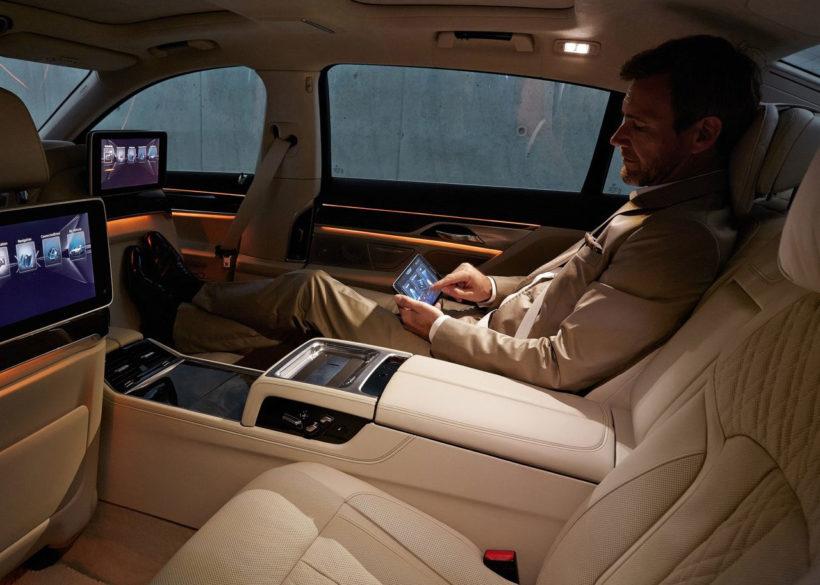 Comodidad plena en el BMW Serie 7 2016