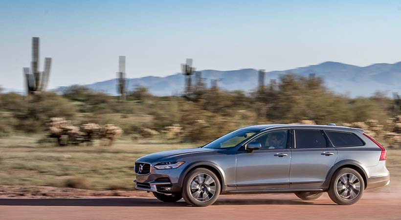 Test Drive Volvo V90 Cross Country