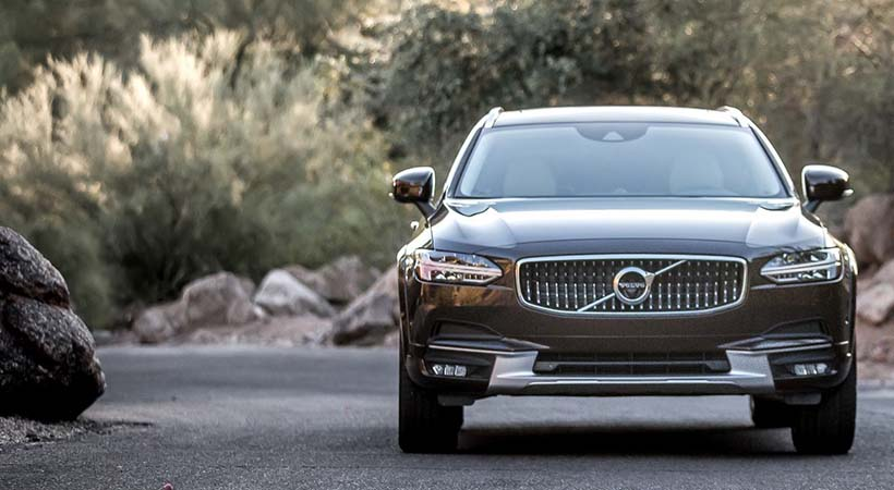 Test Drive Volvo V90 Cross Country 2017
