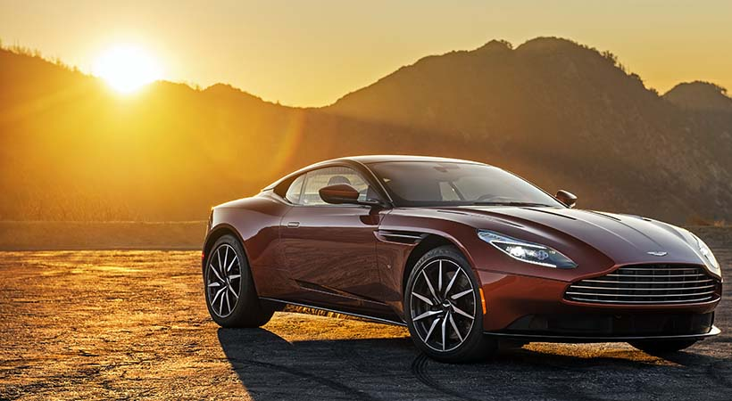 Test Drive Aston Martin DB11 2017