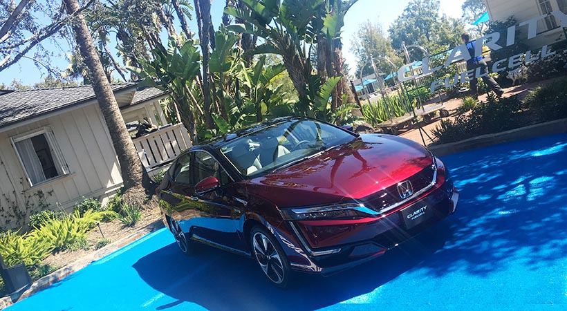 Test Drive Honda Clarity Fuel Cell 2017