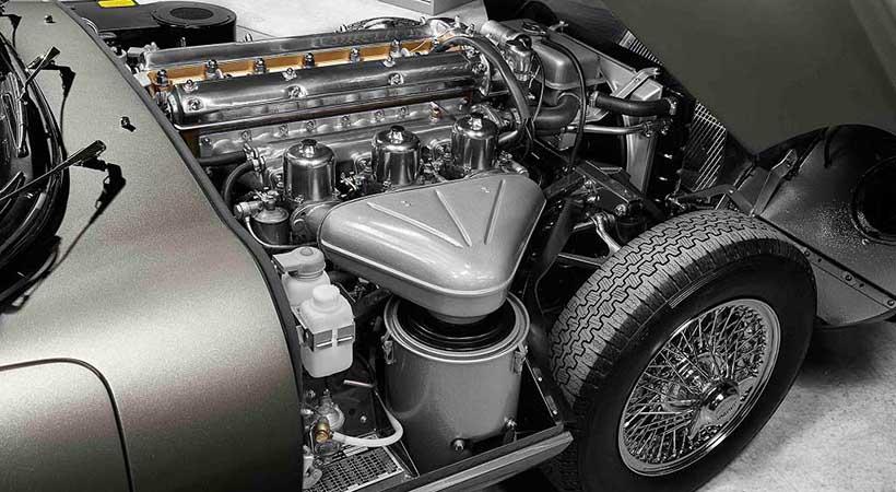 """Jaguar E-Type """"Reborn"""""""