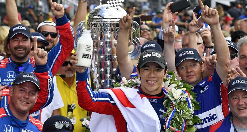 Honda dominó la Indy 500 con Takuma Sato