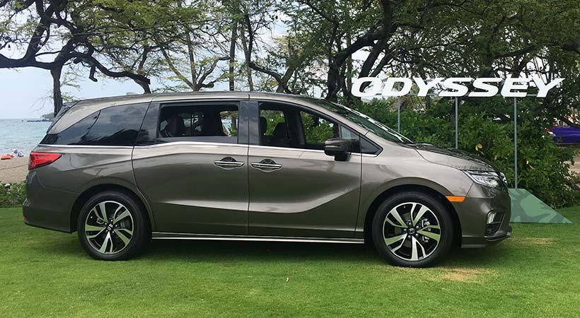 Test Drive Honda Odyssey 2018