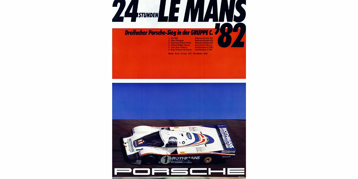 Top 20 hazañas de Porsche en Le Mans