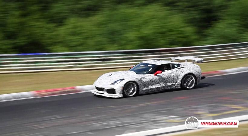 Chevrolet Corvette ZR1 en el Nürburgring