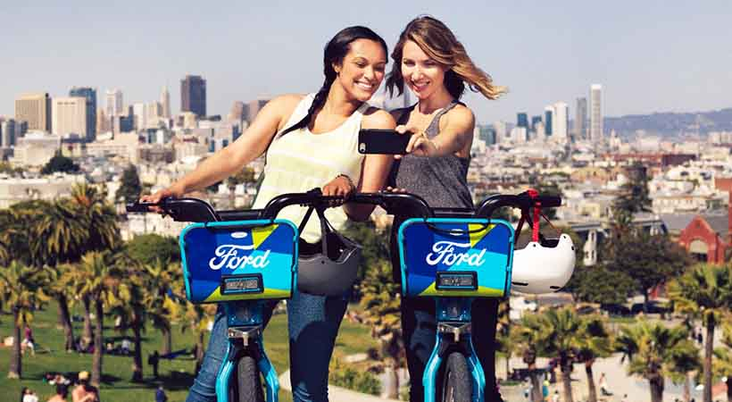 Ford GoBike, San Francisco, bicicletas, movilidad sustentable