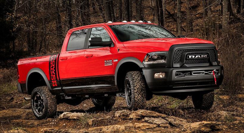 Mejores camionetas: Ram 2500 Power Wagon 2017