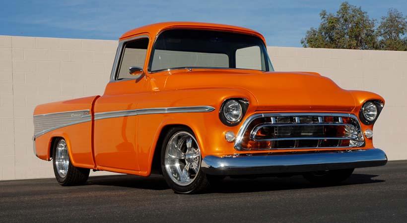 Top 9 pick ups Chevy Clásicas