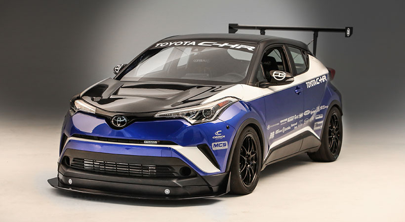 Toyota en el SEMA Show 2017, Rutledge Wood Camry, Toyota C-HR R-TUNED, video SEMA Show 2017