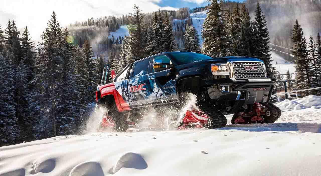 GMC Sierra 2500HD All Mountain concept, invierno 2017
