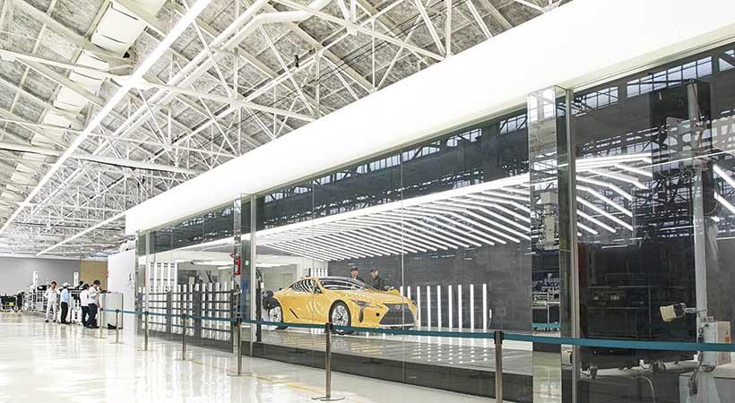 Planta Motomachi de Toyota, donde se fabrica el Lexus LC 500, fábrica Toyota City, Lexus LC 500 fabricación, video Lexus LC 500