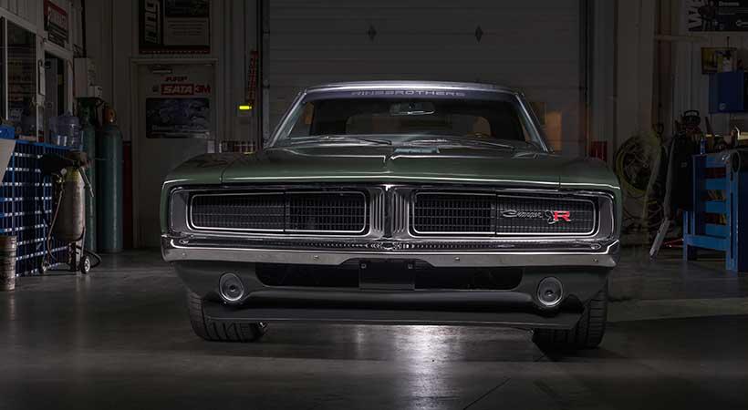 "Dodge Charger 1969 ""Defector"", Ringbrothers, SEMA Show Las vegas 2017, mopar muscle car"