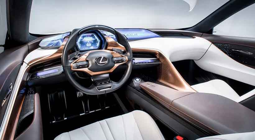 Lexus LF-1 Limitless, lanzamientos del Auto Show de Detroit, Auto Show de Detroit 2018