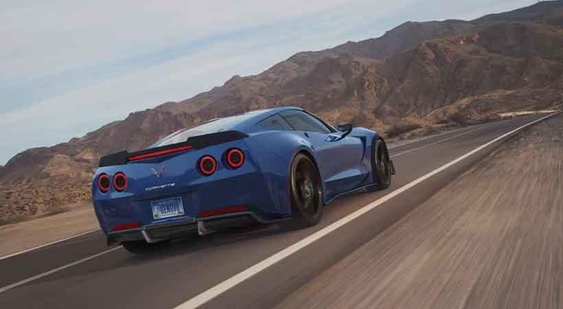 Genovation GXE, CES 2018, novedades del CES 2018, Chevrolet Corvette, Chevrolet, autos verdes