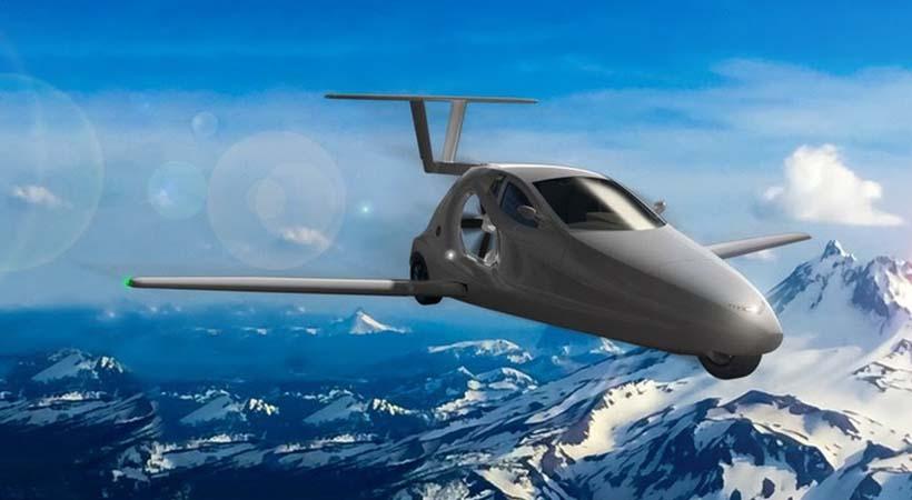 Auto volador Switchblade