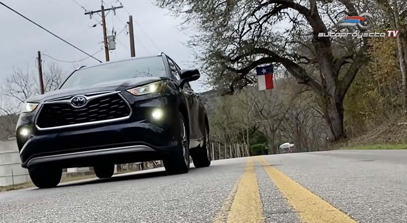 Test Drive Toyota Highlander 2020 El Crossover Original