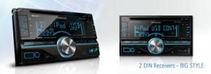 Autoradio pas cher – Quelques actualités – Le nouvel autoradio CD double DIN de chez Kenwood