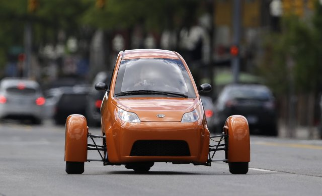 Tesla Three Wheel Car1