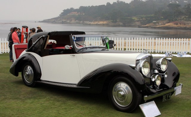 1937 Bentley 4.25 Litre Gurney Nutting Coupe
