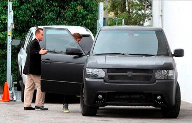 Justin Beiber Range Rover
