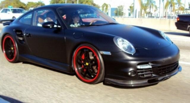 Justin bieber 997 Porsche Turbo
