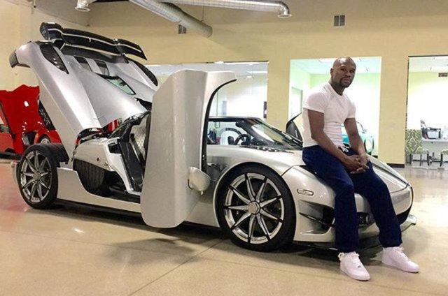 Floyd Mayweather Car Collection