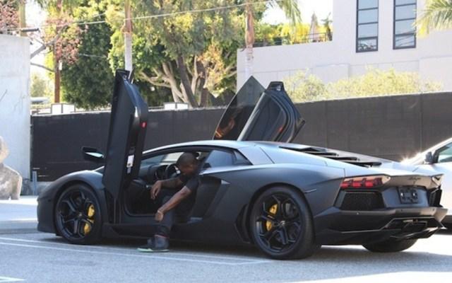 Kanye West - Lamborghini Aventador