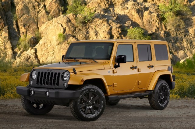The 2014 Jeep Wrangler Unlimited