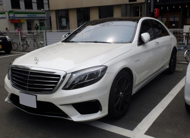 Mercedes-S63 AMG4Matic
