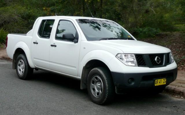 The Nissan Navara 1