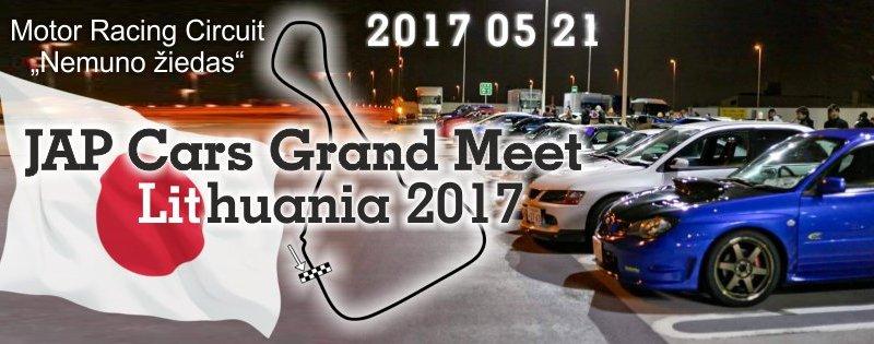 JapCars Grand Meet Lithuania 2017