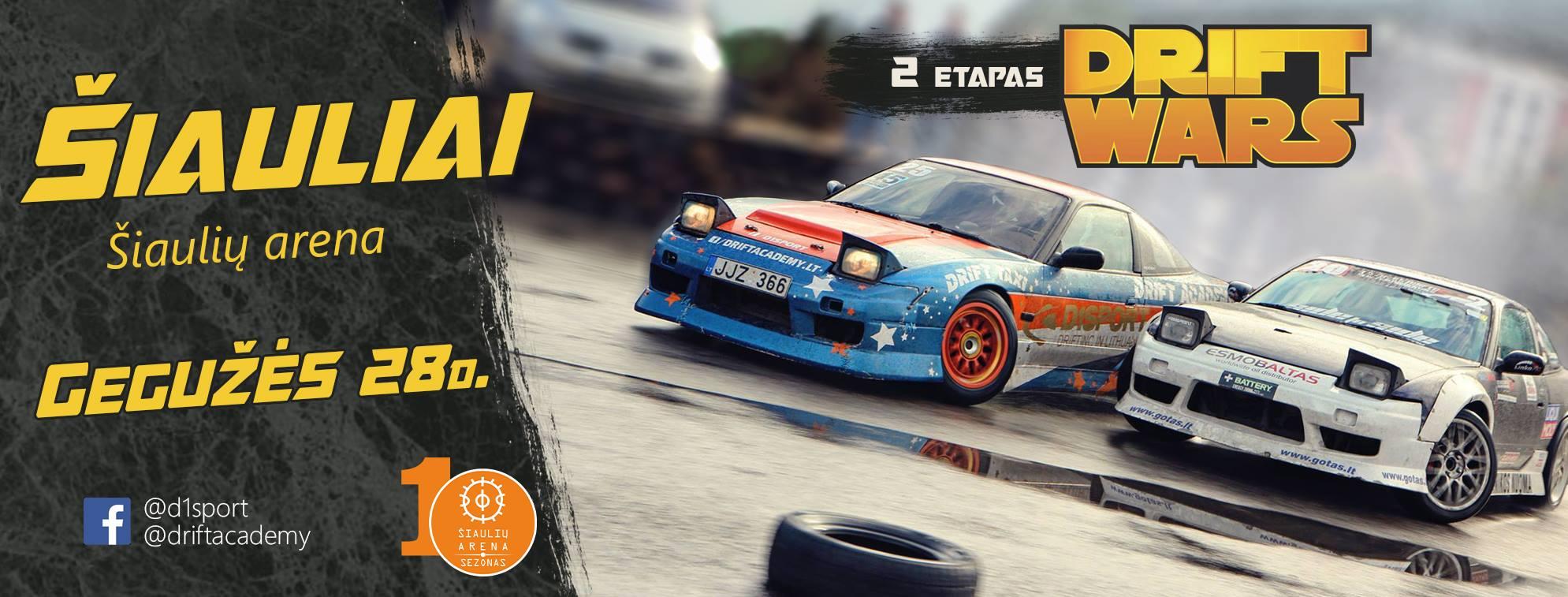 D1Sport Drift Wars 2e. / Šiauliai