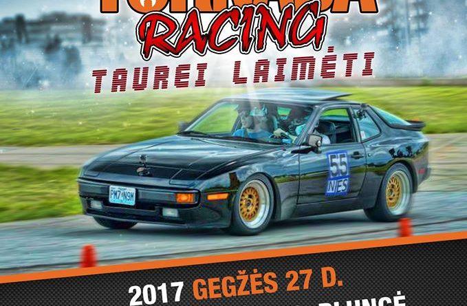 """Automobilių slalomo varžybos """"Tornada racing"""" taurei laimėti"""