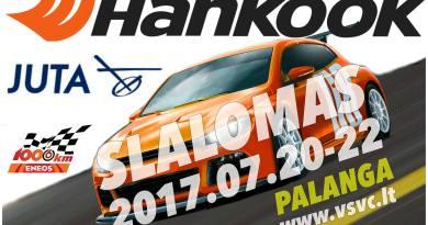 Hankook Juta slalomas / Hankook Juta greituminis slalomas