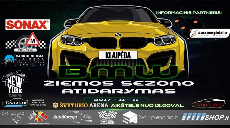 BMW Žiemos sezono atidarymas