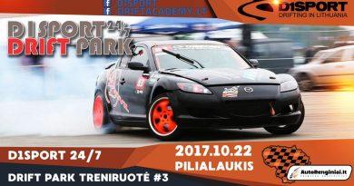 D1Sport 24/7 Drift Park Treniruotė #3