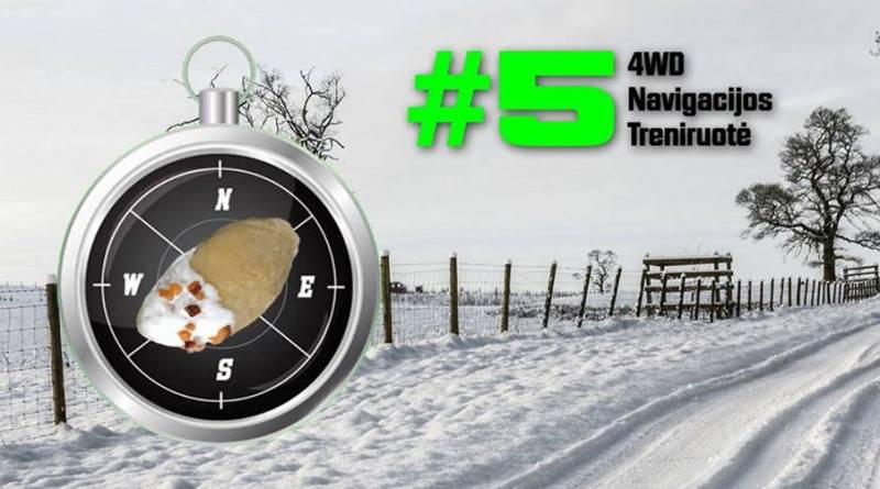 4WD Navigacijos / orientavimosi treniruotė #5