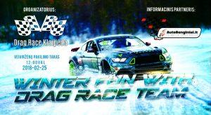 Winter fun with dragRace team