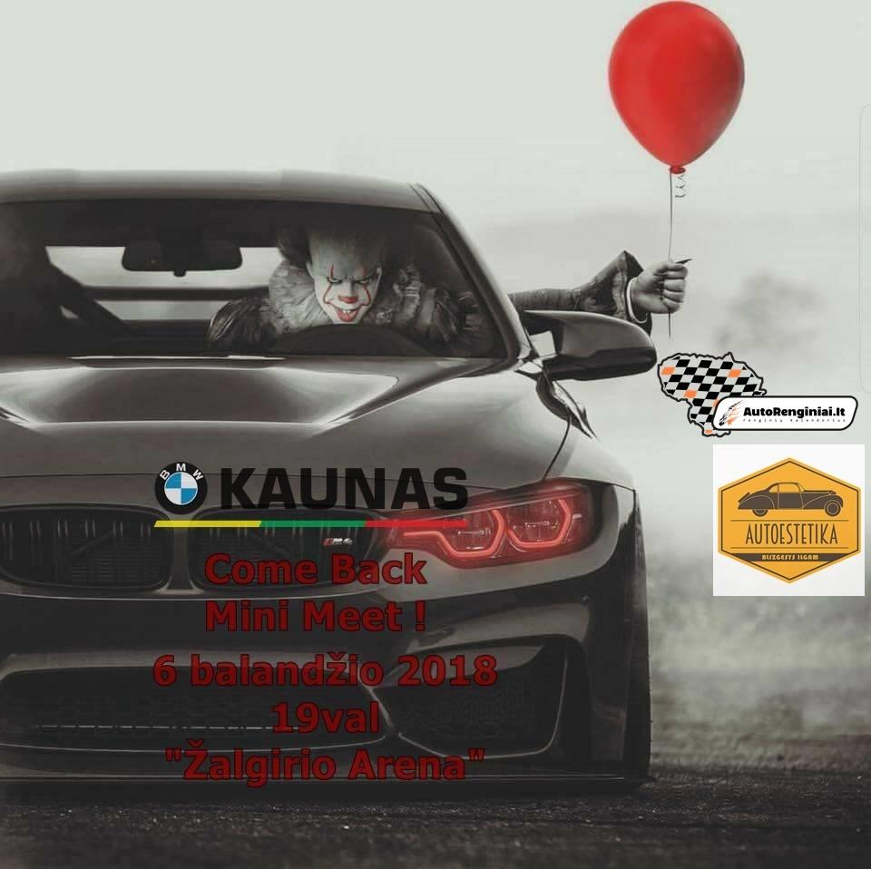 BMW Kaunas Come Back Mini Meet !