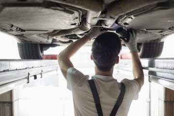 Half of garages working at reduced rates