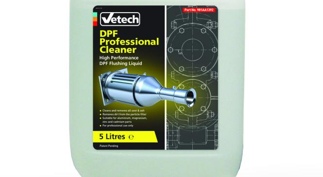 The Parts Alliance adds design protection to Vetch DPF cleaner