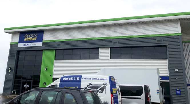 Distribution hub and two more branches for Euro Car Parts