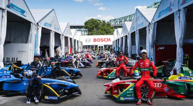 Bosch announces sponsorship of Formula E